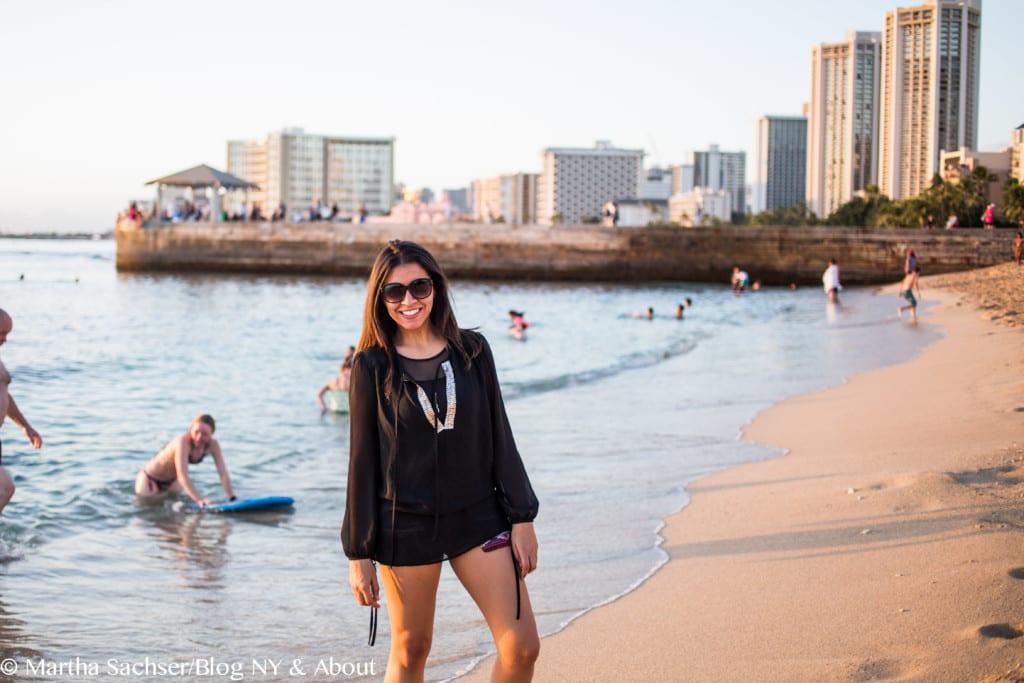 Minha viagem para o Havaí
