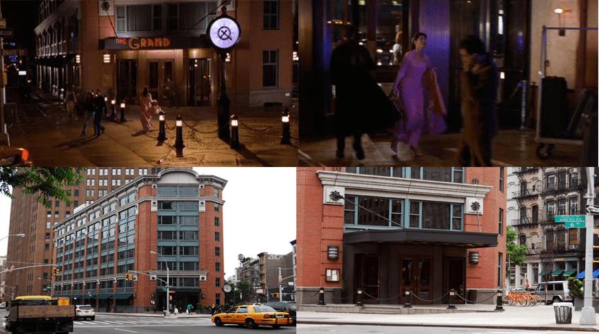 Grand Hotel, 24 White Street and 6th Avenue, Manhattan.