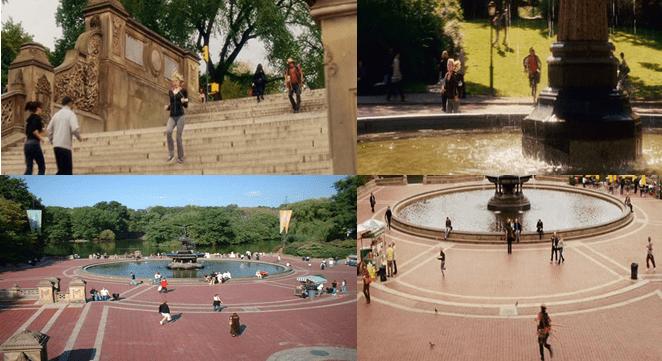 Bethesda Terrace, (Mid-Park at 72nd Street) Central Park, Manhattan.