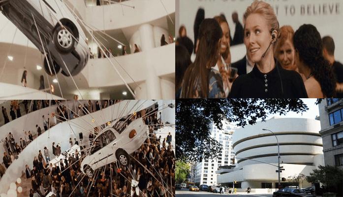 Guggenheim Museum, 1071 5th Avenue and East 89th Street, Manhattan.