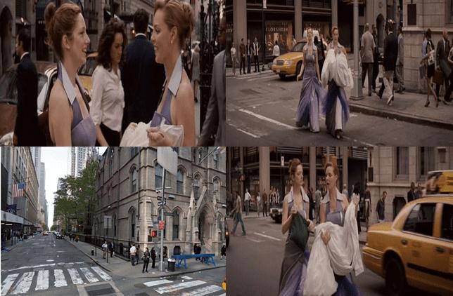 Madison Avenue and East 50th Street, Manhattan.