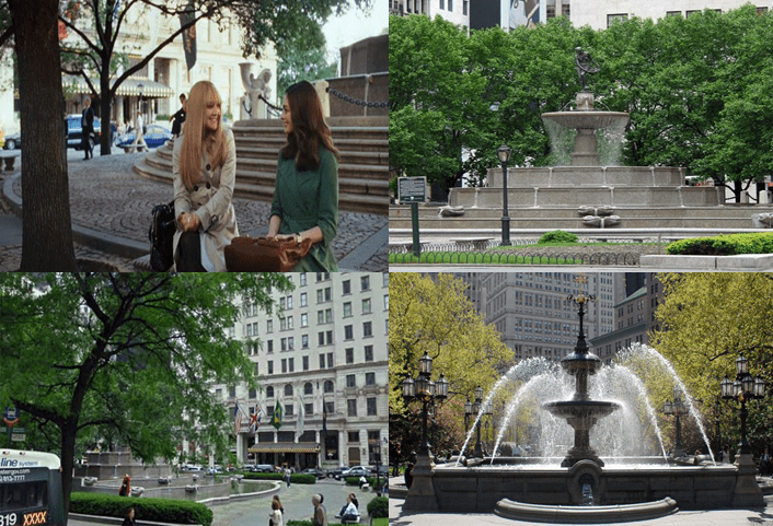 Pulitzer Fountain, W 58th Street and Grand Army Plaza, Manhattan.
