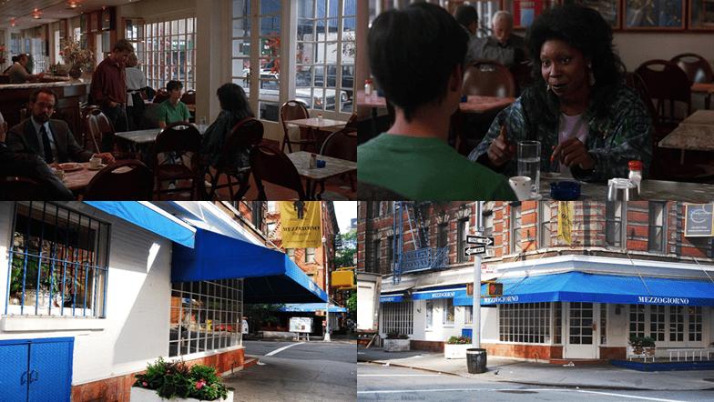 Mezzogiorno Restaurant, 200 Spring Street and Sullivan Street, Manhattan