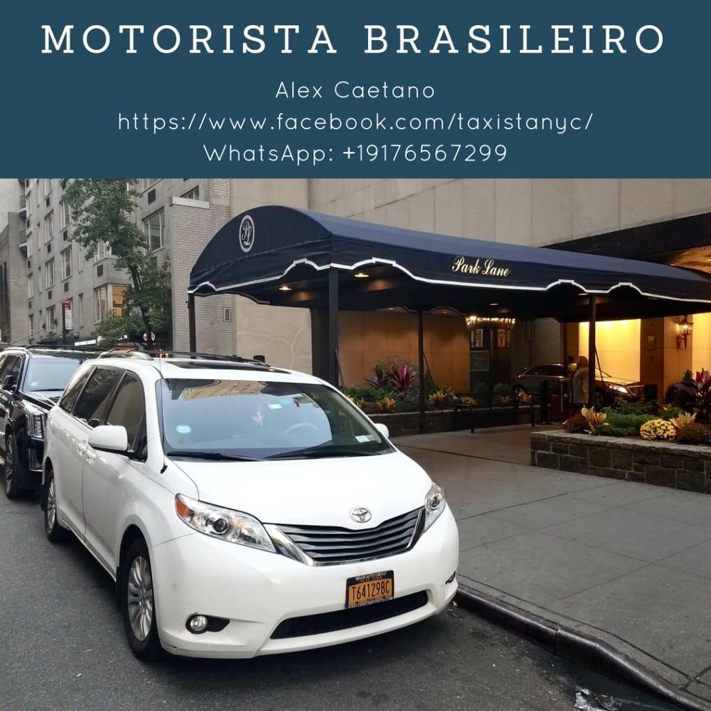 MOTORISTA BRASILEIRO EM NY!