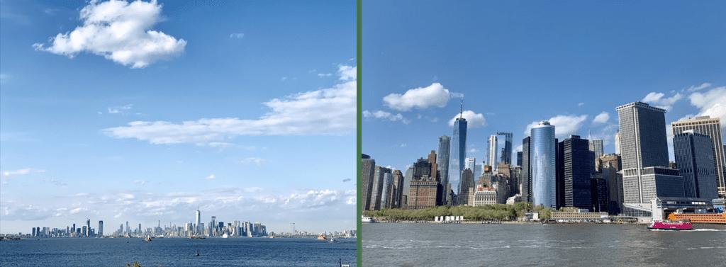 vista de nova york