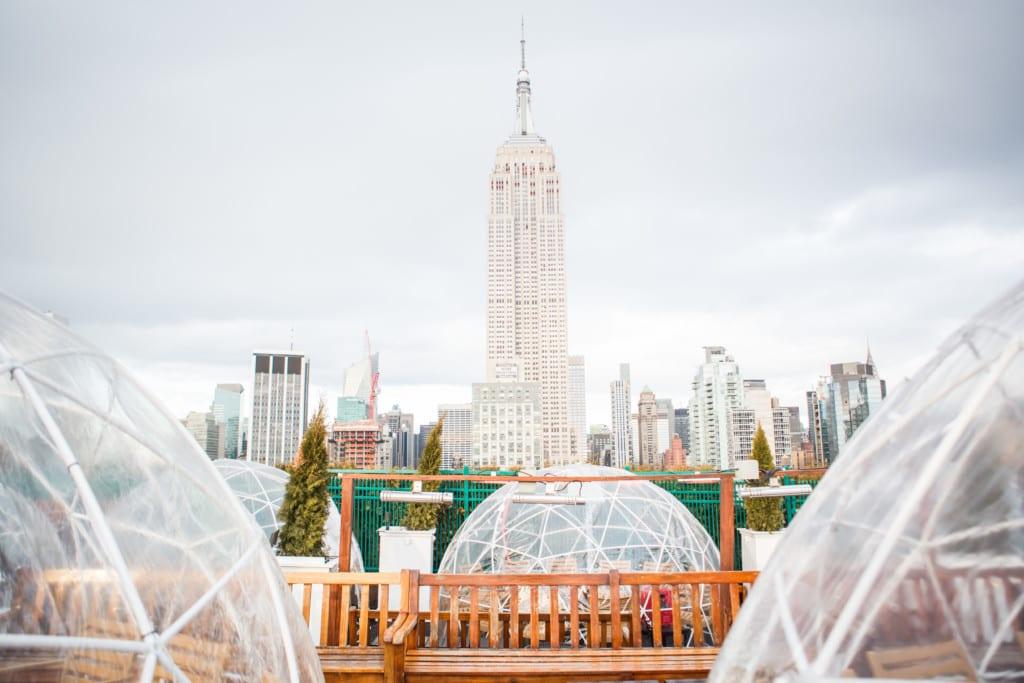 230 Fifth, o rooftop com vista para o Empire State