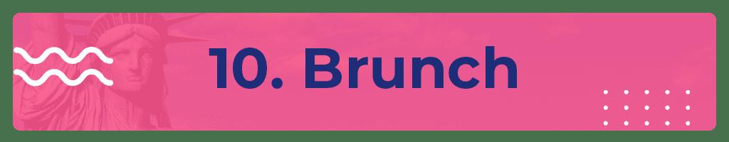 brunch em nova york