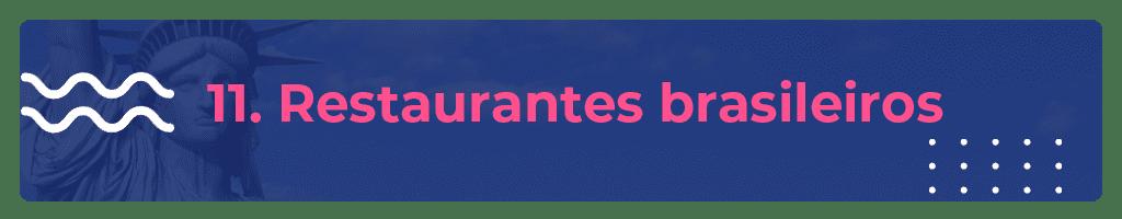 restaurantes brasileiros em nova york