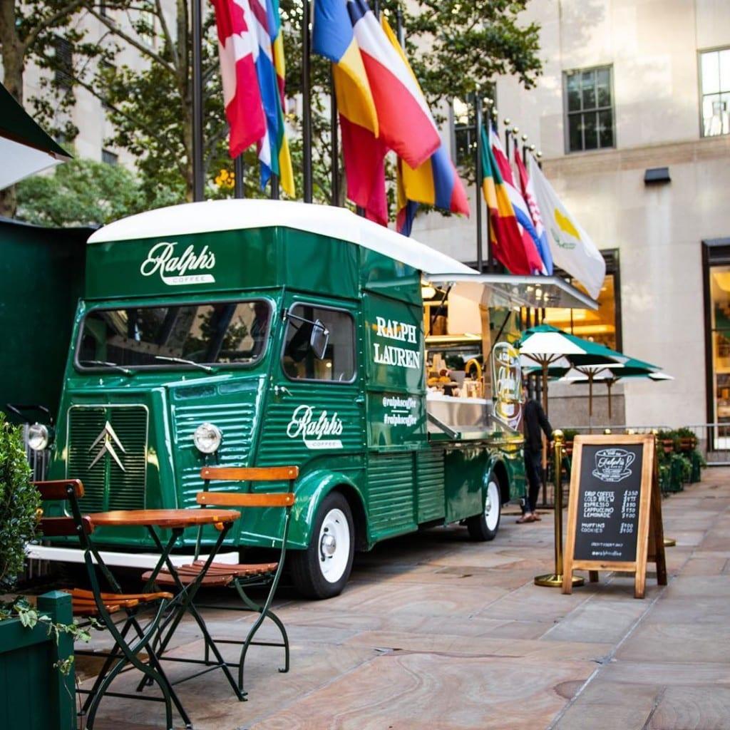 Ralph's Coffee no Rockefeller Plaza