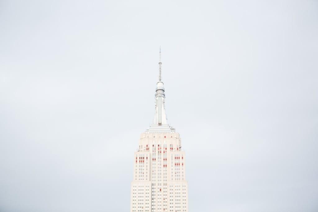 Empire State visto do 230 Fifth
