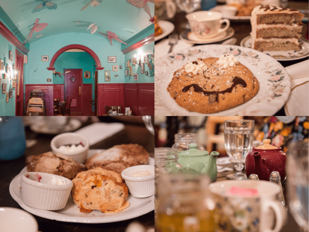 Alice's Tea Cup, o café de Nova York inspirado em Alice no País das Maravilhas.