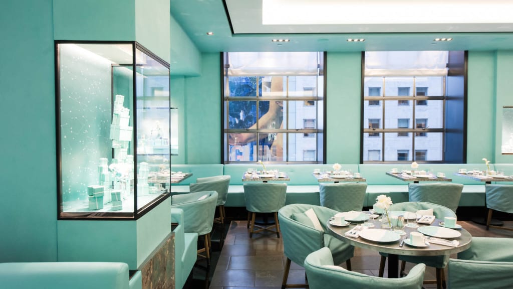 Blue Box Cafe, Tiffany & Co.