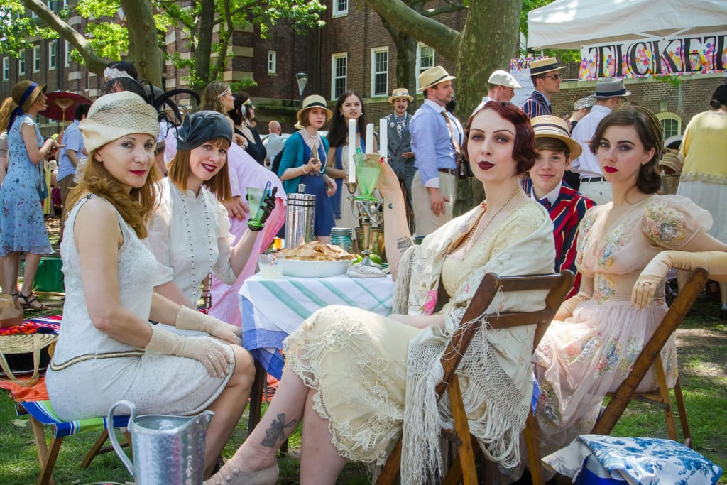Jazz Age Lawn Party em Governors Island