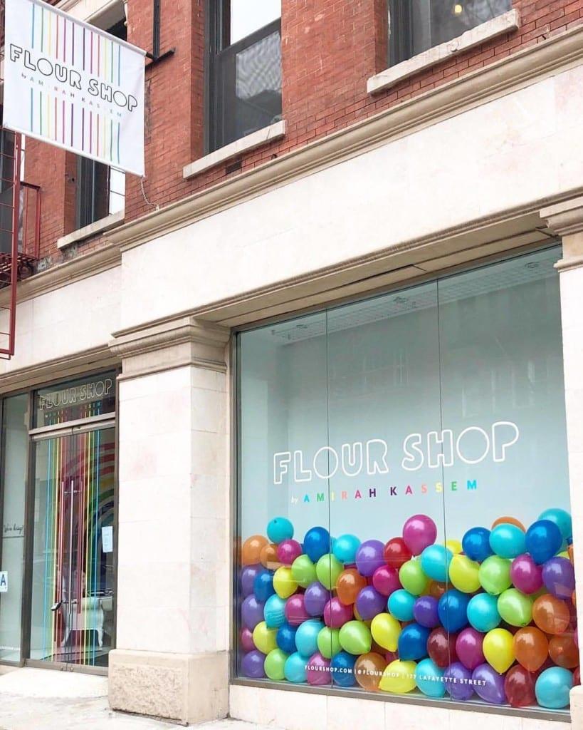 Frente da Flour Shop