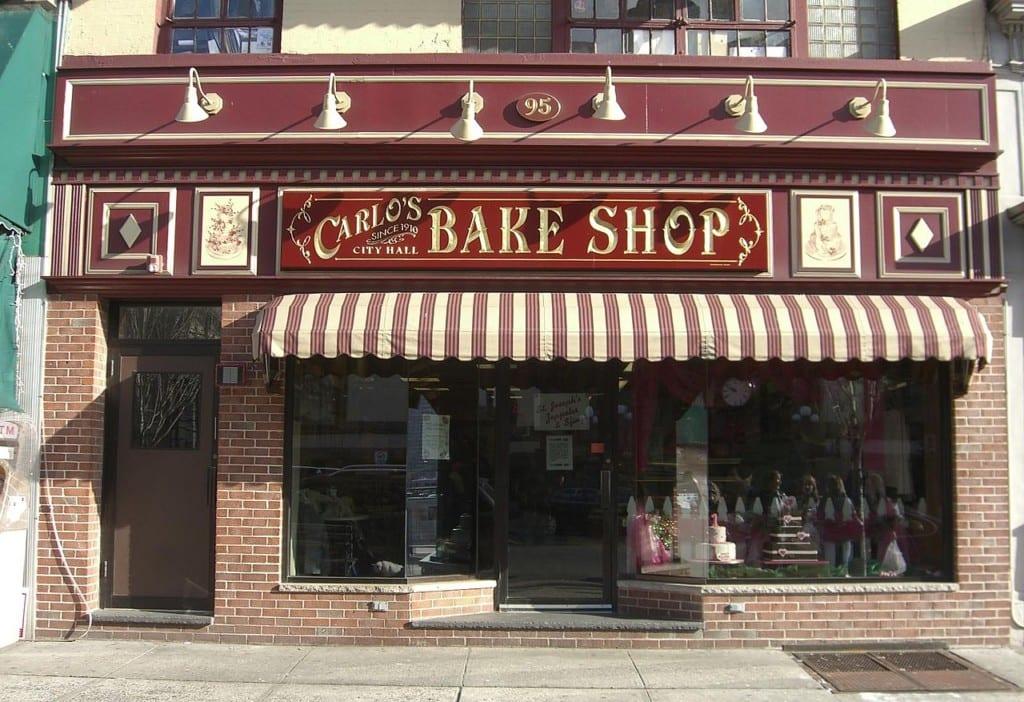 Primeira unidade da Carlo's Bake Shop, em Hoboken, New Jersey.