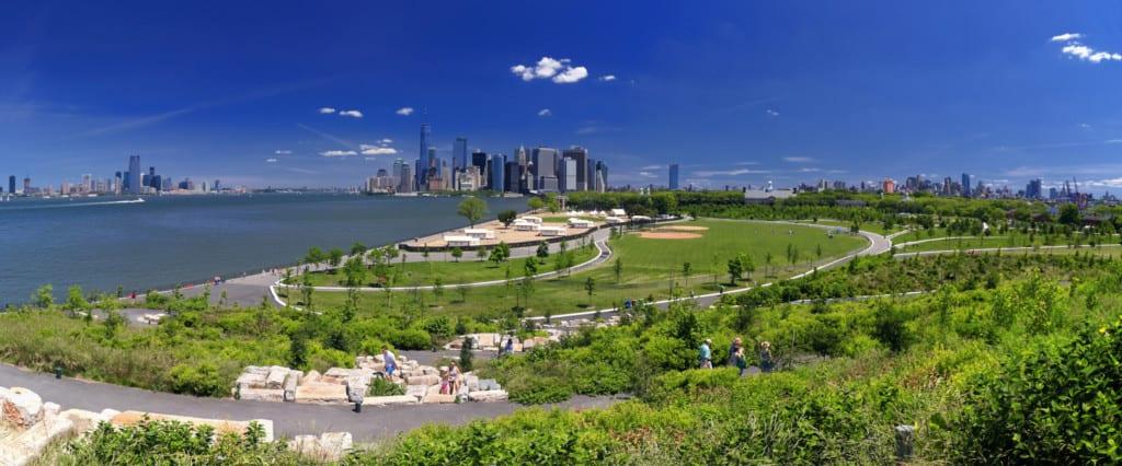 Governors Island em Nova York.
