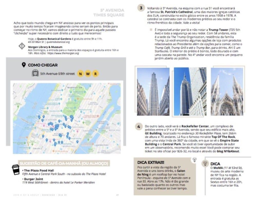 Guia oficial do blog para até 16 dias em Nova York