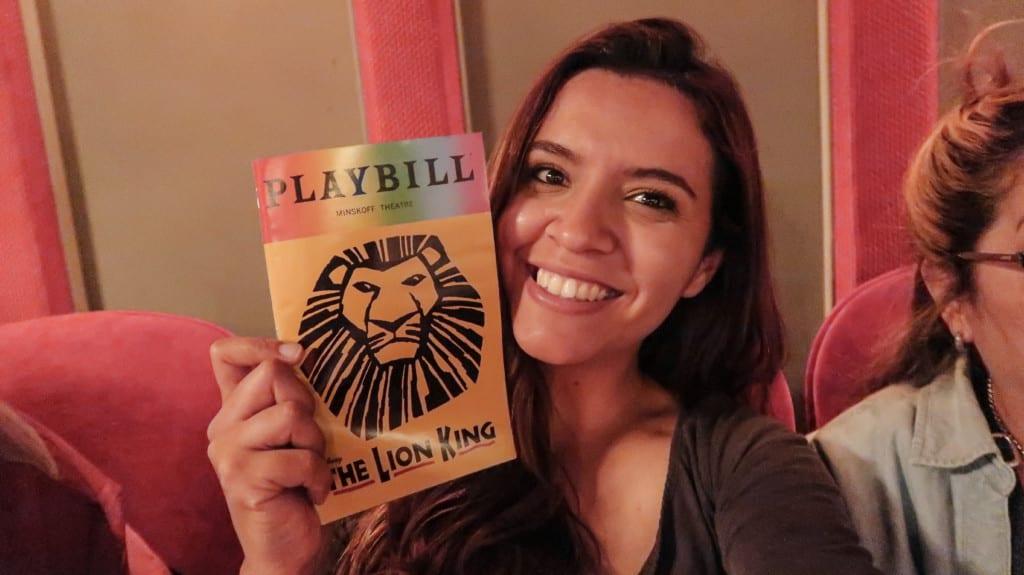 Dia em que assisti O Rei Leão na Broadway