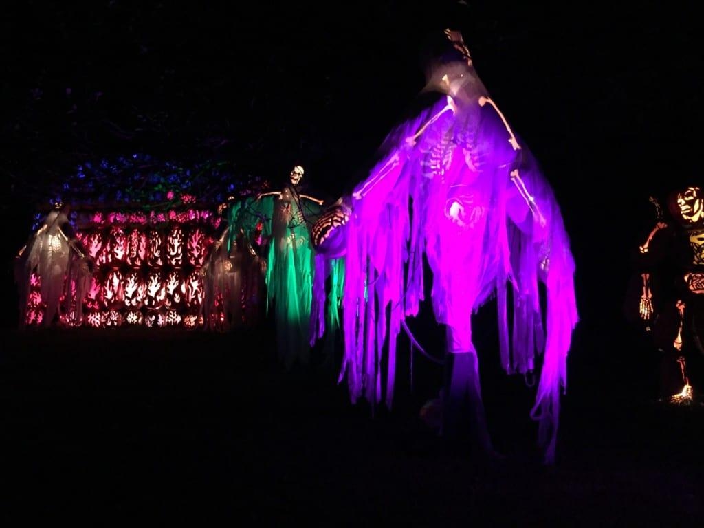 Fantasmas do The Great Jack O'Lantern Blaze.