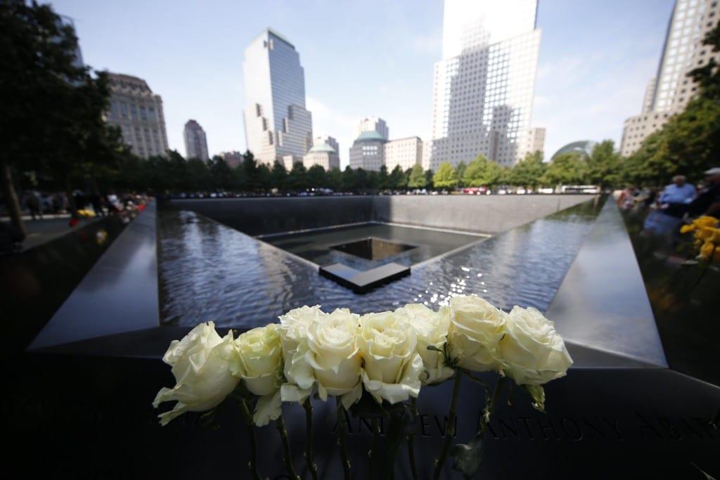 Homenagem durante o 9/11 Memorial Day