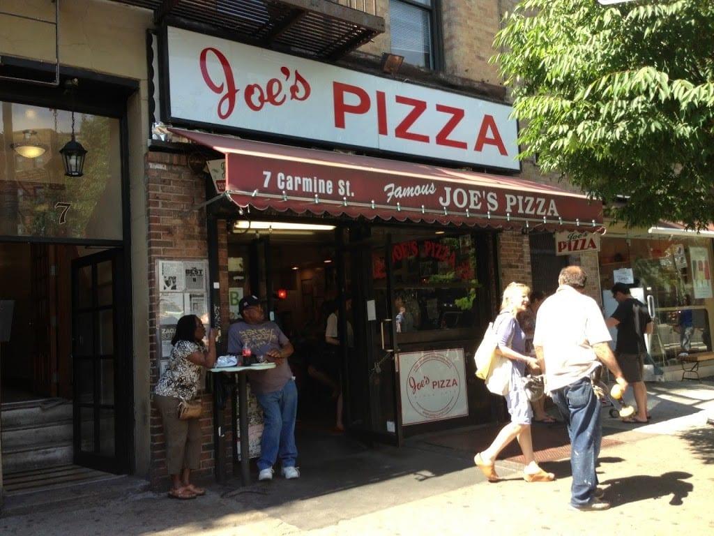 Joe's Pizza, a pizzaria do homem aranha