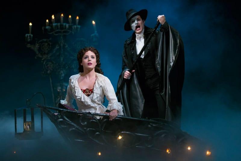 Cena do musical O Fantasma da Ópera