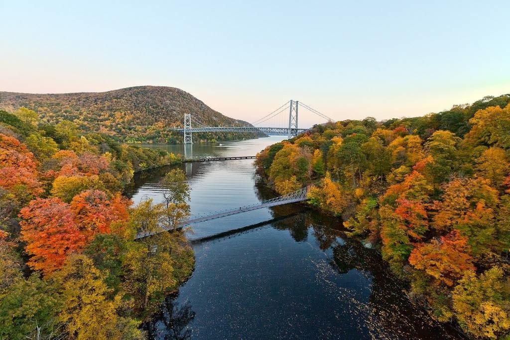 Vista de Hudson Valley