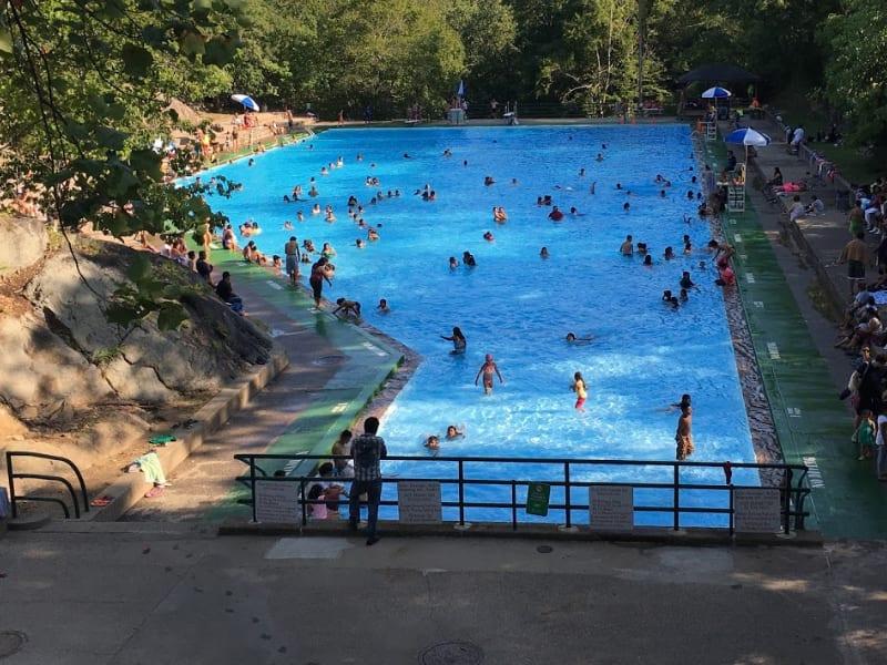 Bear Mountain Pool.