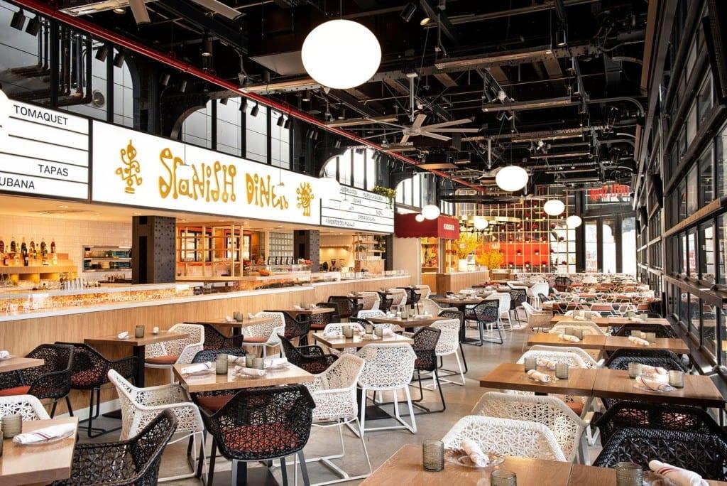Spanish Diner, restaurante do Mercado Little Spain.