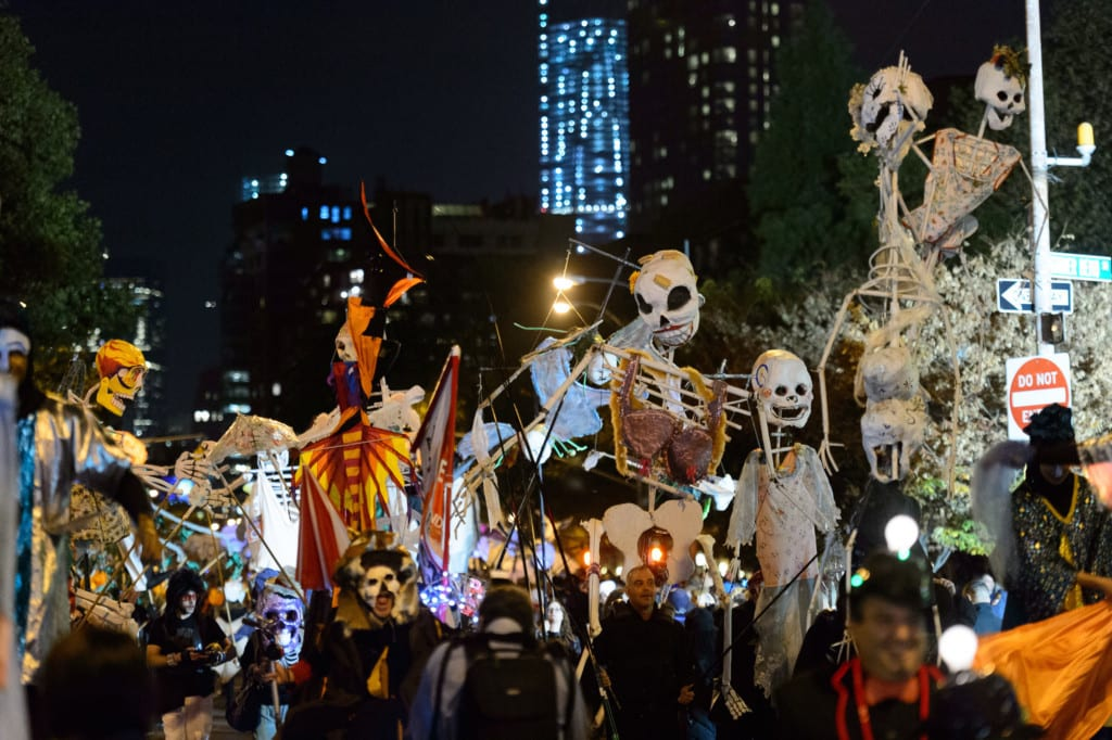 Village Halloween Parade.