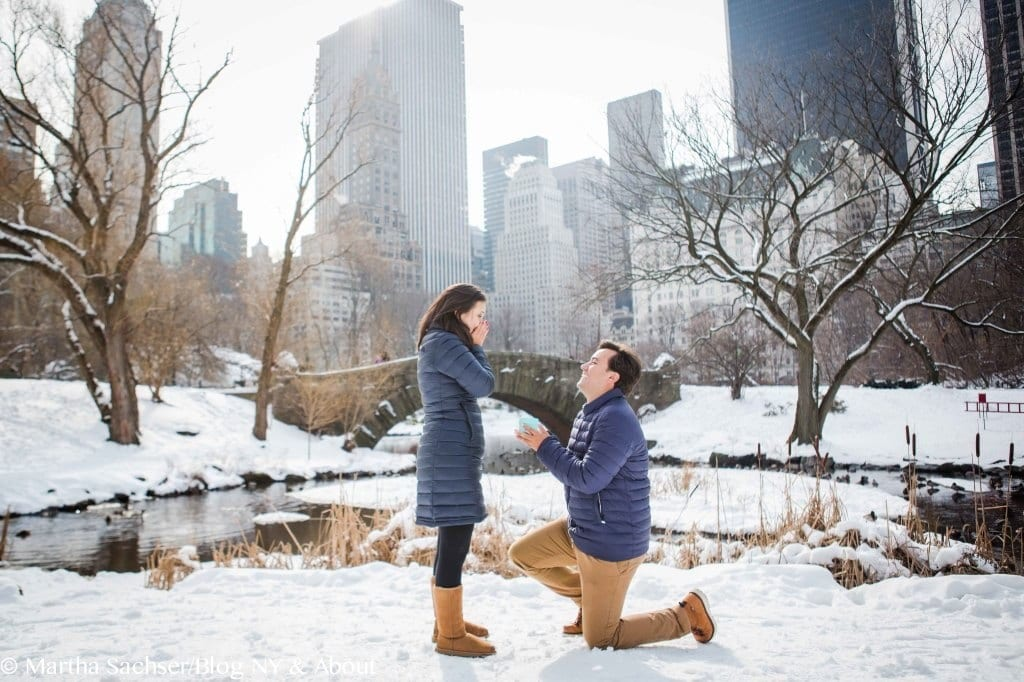 Ensaio fotográfico no Central Park