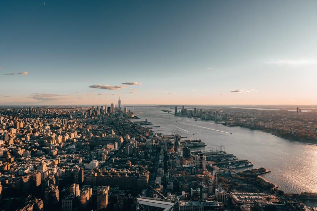 Vista do Edge, observatório do Hudson Yards