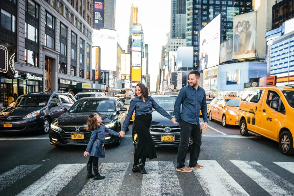 Ensaio fotográfico em Nova York